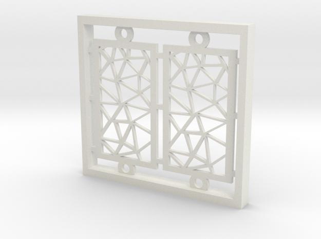 screen in White Natural Versatile Plastic