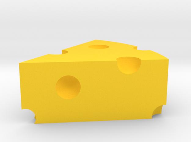 cheese in Yellow Processed Versatile Plastic