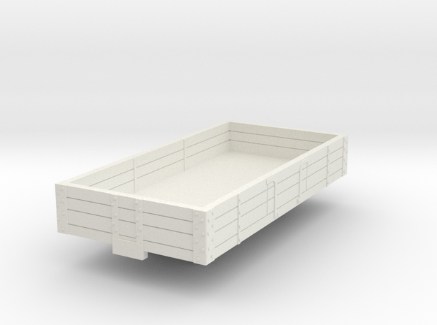 0-100-ford-3pl-baggage-wagon in White Natural Versatile Plastic
