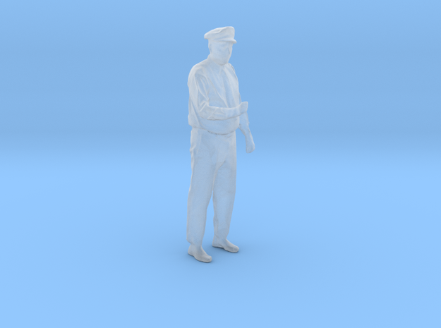 Motorman / Operator Figure HO & O Scales in Smooth Fine Detail Plastic: 1:87 - HO