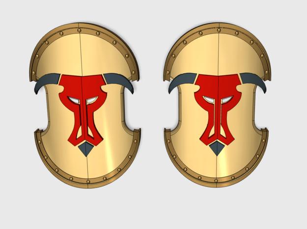 10x Minotaurs - Trojan Power Shields (L&R)