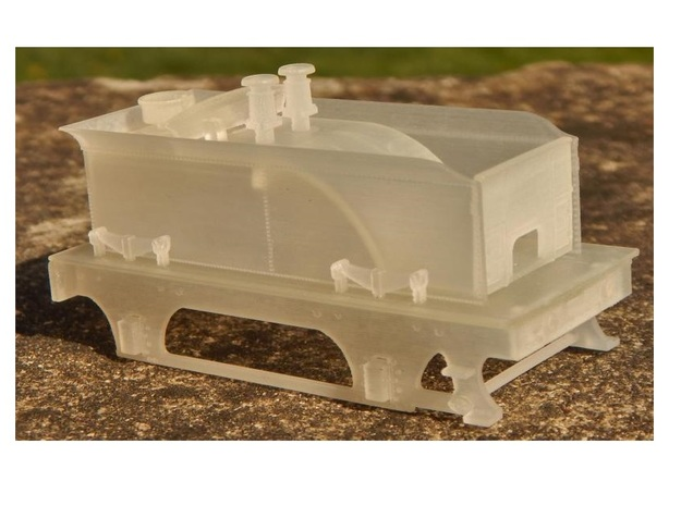 Cambrian 'Albion' SPC Tender - FUD/FXD in Smooth Fine Detail Plastic