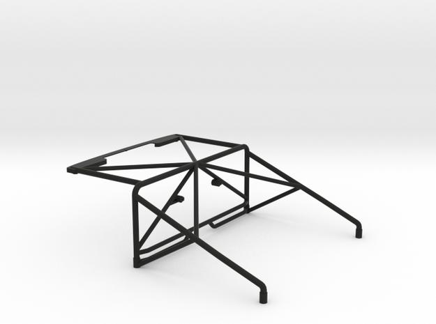 JK Roll Cage V2 in Black Natural Versatile Plastic