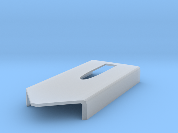 template for the 1/8 McLaren MP4/4 air scoops  in Smooth Fine Detail Plastic