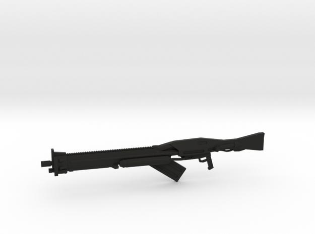 Nightingale Beam Rifle 1/144 in Black Natural Versatile Plastic