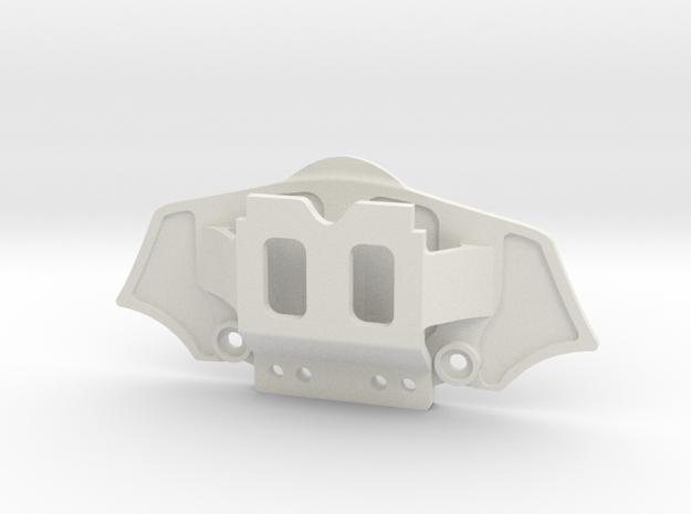 Mini-Z Ferrari 458 front bumper in White Natural Versatile Plastic