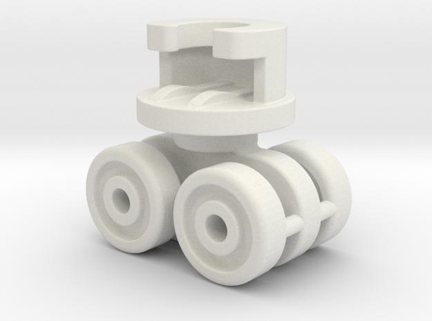 Ikea VIDGA 146961 (Metal Axle version) in White Natural Versatile Plastic