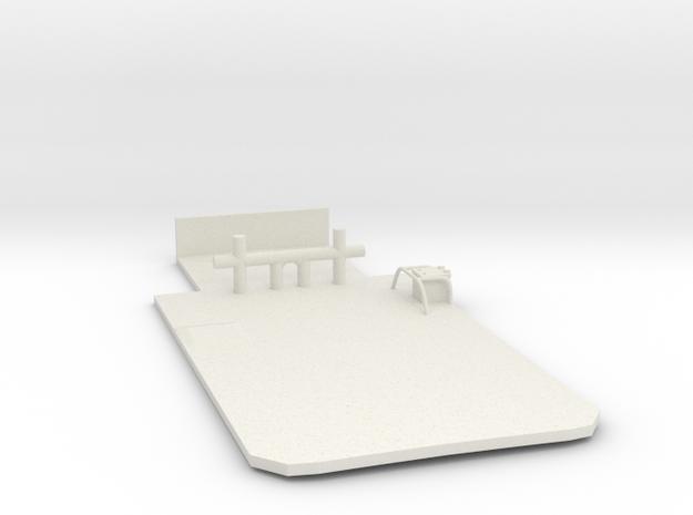 Main Deck Inlay 1/120 V56 01 fits Harbor Tug in White Natural Versatile Plastic