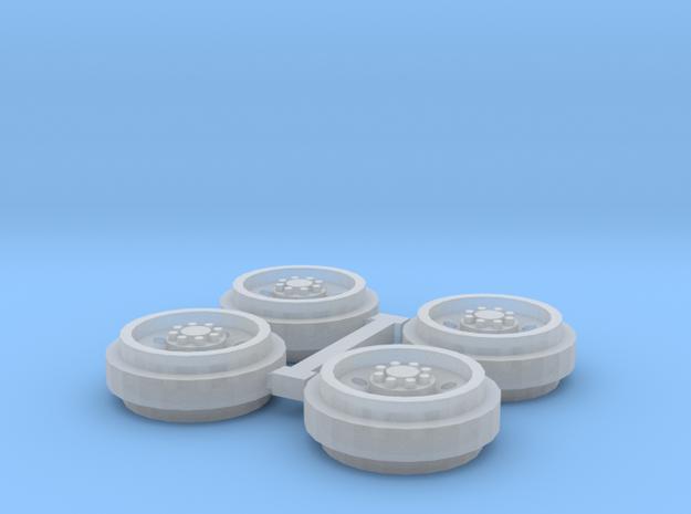1/64 Alcoa Singles Rims (1 Set) in Smooth Fine Detail Plastic