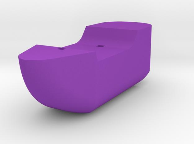 Ship in Purple Processed Versatile Plastic