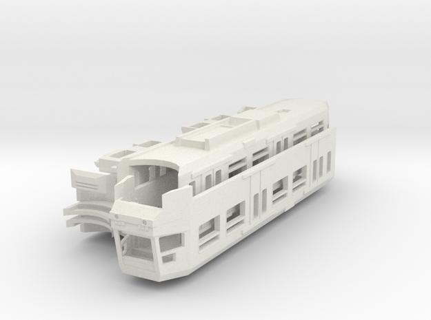 Manchester Metrolink T68A (Mk2) Tram N-Gauge 1:148 in White Natural Versatile Plastic