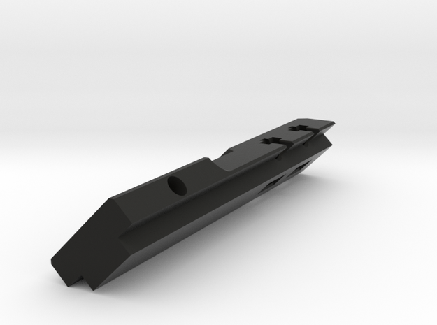 SBR Mount spine in Black Natural Versatile Plastic