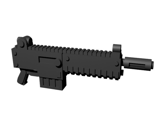 Automatic rifles 28mm x200 in Smoothest Fine Detail Plastic