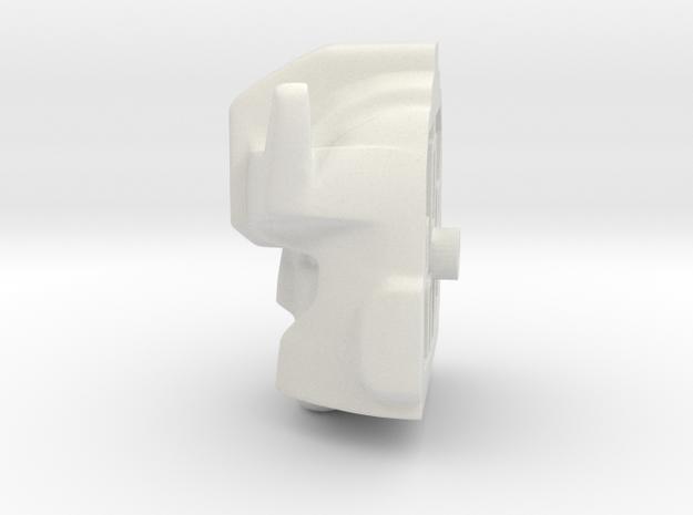 Headmaster Prowlhead in White Natural Versatile Plastic