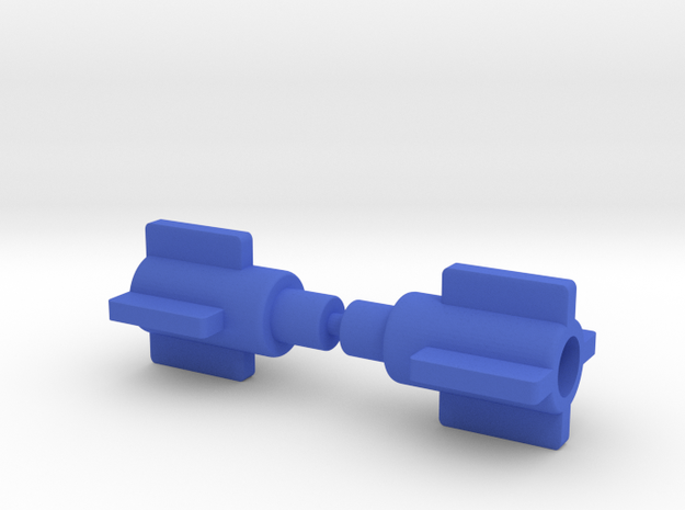 Giant Acroyear Shoulder Adapters in Blue Processed Versatile Plastic