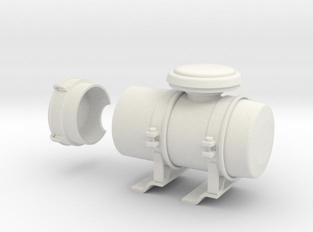 Air-filter-unit-a in White Natural Versatile Plastic