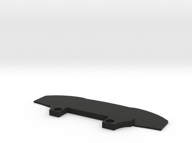 Mini-Z 75mm Splitter in Black Premium Versatile Plastic
