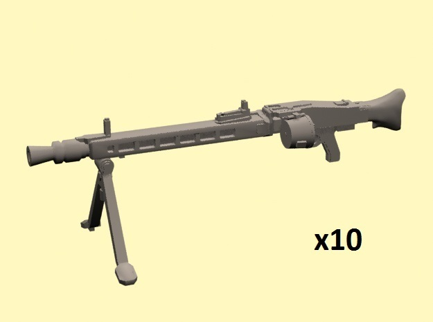 28mm MG-42 with drum x10