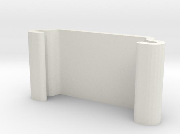 PClip in White Natural Versatile Plastic