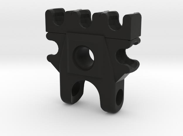 Bionicle hand Concept in Black Natural Versatile Plastic