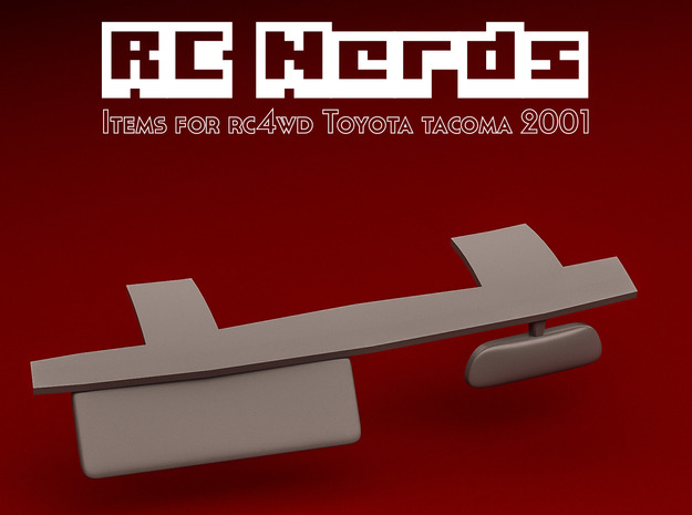 RCN133 Review mirror for RC4WD Toyota Tacoma