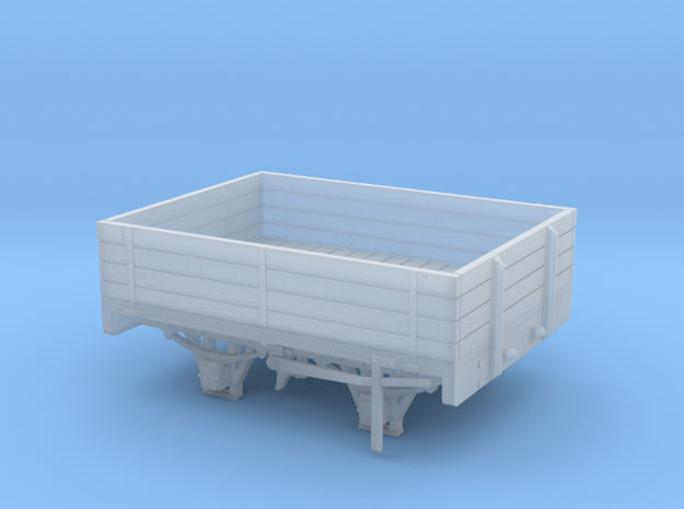W&LLR Timber Bolster Open Wagon Conversion in Smoothest Fine Detail Plastic