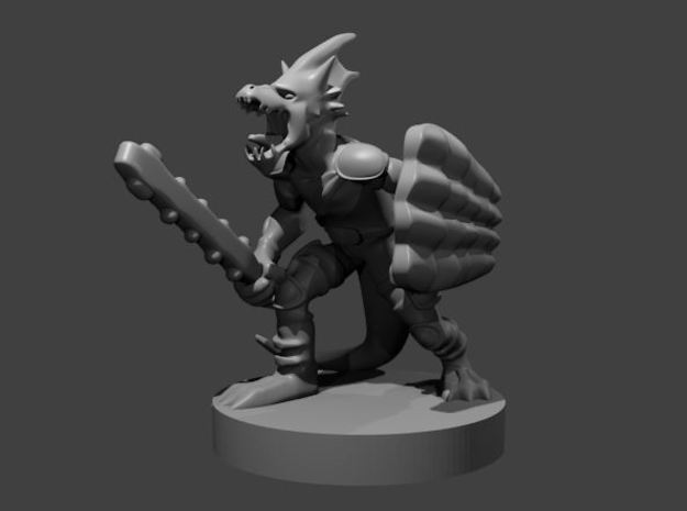 Jungle Kobold in Smooth Fine Detail Plastic