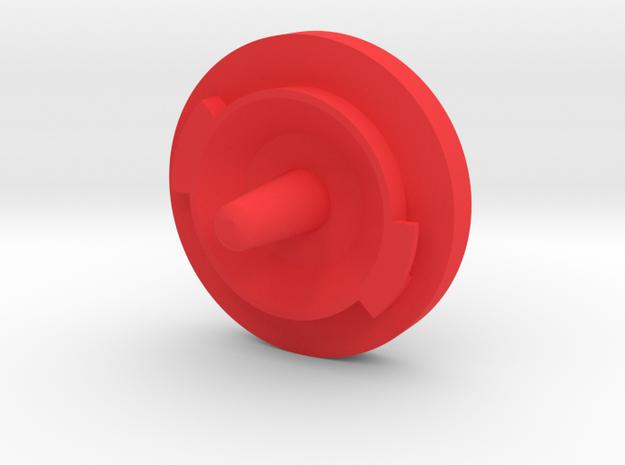 VSKF AirSoft SafePlug V2_end in Red Processed Versatile Plastic