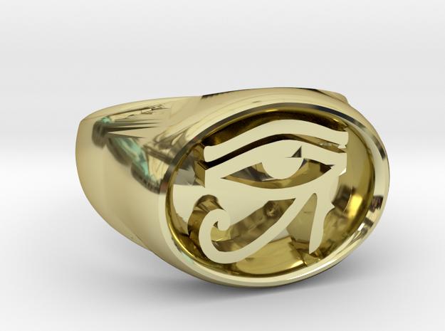 Custom Signature Jewelry - Eye of Dawn Men's Ring