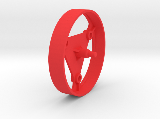 Microtron Spin Roller in Red Processed Versatile Plastic
