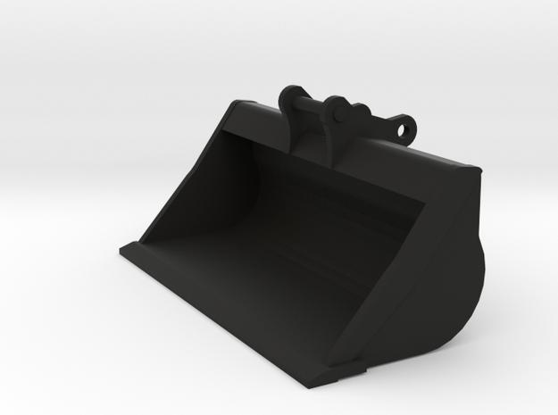 Miniatuur brede bak / slotenbak 1:50 voor 20 tons