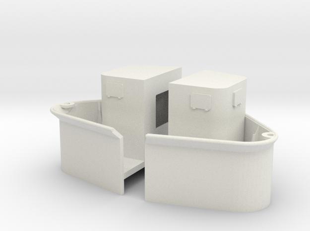 1/72 Yamatosuperstructures part6 in White Natural Versatile Plastic