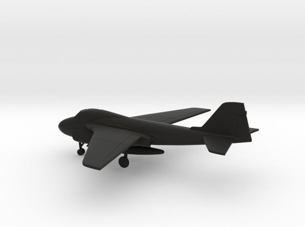 Grumman A-6E Intruder in Black Natural Versatile Plastic: 1:200