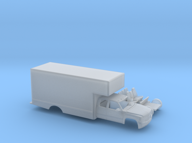 1/87 1999-02 Chevy Silverado EXTCab Uhaul Style in Smooth Fine Detail Plastic