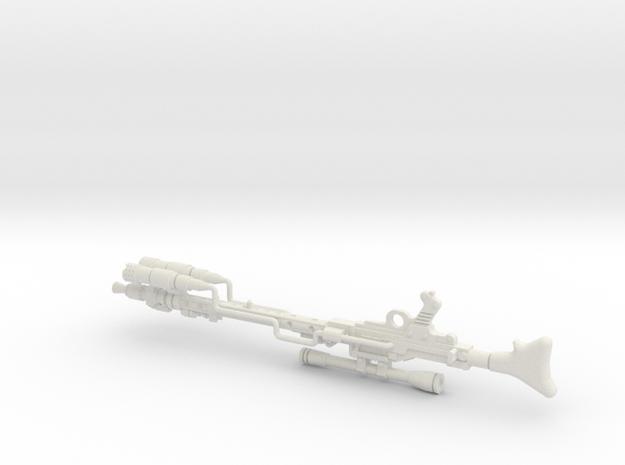 "PRHI Star Wars DLT-19D 3 3/4"" in White Natural Versatile Plastic"