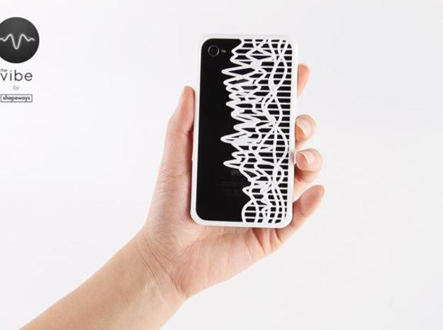 The Vibe iPhone Case - 1634624:58.19 3d printed