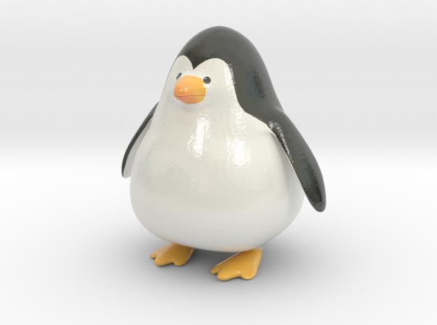 Punge the Penguin in Glossy Full Color Sandstone