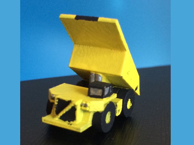 1/500 scale CAT 793F Dump Truck Lifted Bed in Smoothest Fine Detail Plastic