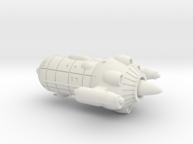 UES Pioneer (1/3125 scale, hollow) in White Natural Versatile Plastic