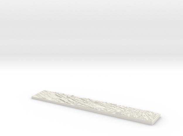 Desk toy Paris in White Natural Versatile Plastic