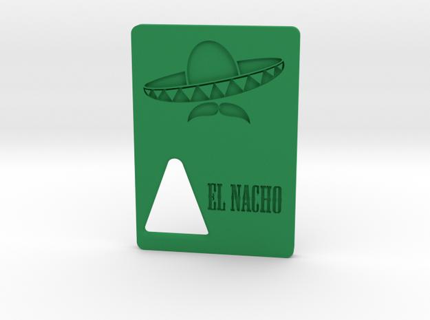 el Nacho - Door in Green Processed Versatile Plastic