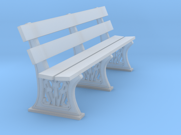GWR bench 3mm scale 10ft length