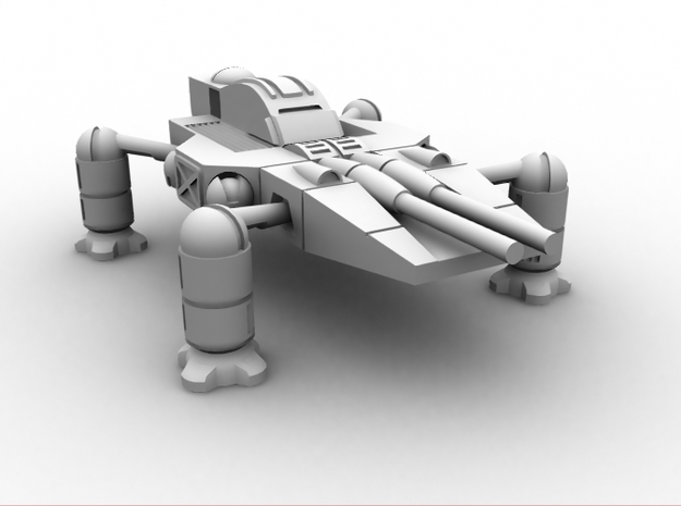 Cayman Mecha 1/285 6mm 3d printed CG image of the actual model