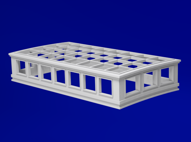 1:96 HMS Victory Skylight in Smoothest Fine Detail Plastic
