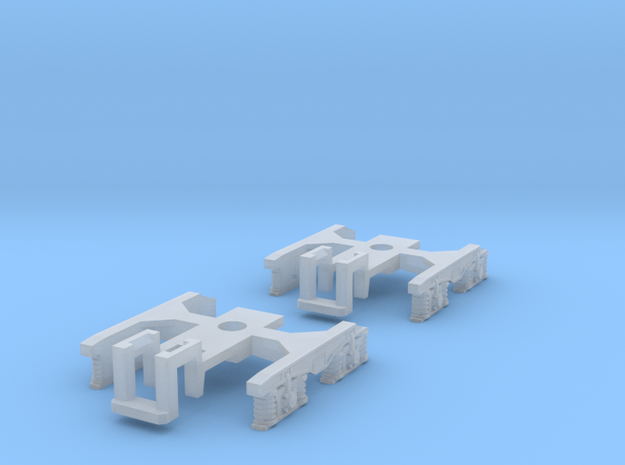 Container car bogie-frame in Smooth Fine Detail Plastic