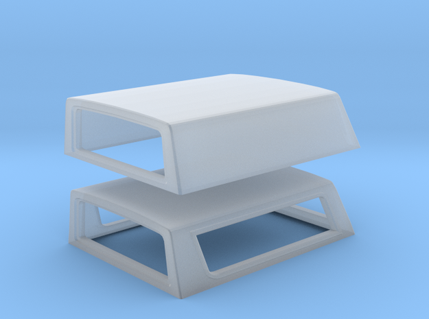 67-72 Chevy C-10 Stepside Bed Topper in Smoothest Fine Detail Plastic