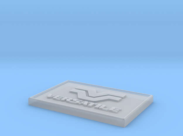 1/64 1 SIDED VERSATILE DEALER SIGN in Smooth Fine Detail Plastic