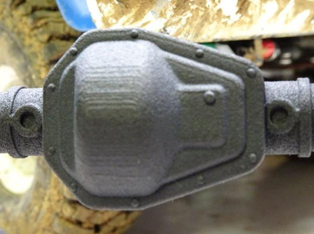 NC60 Stock Diff Cover in Black Natural Versatile Plastic