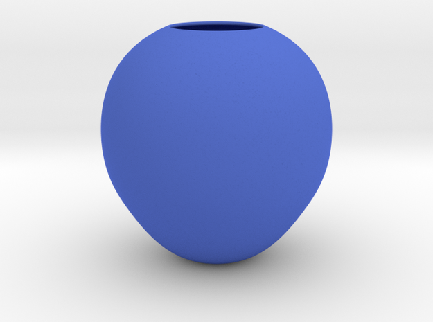 4 in Blue Processed Versatile Plastic