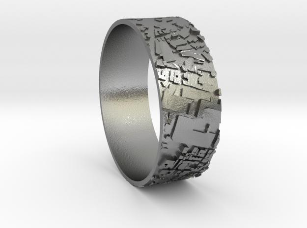 Paris ring  in Natural Silver
